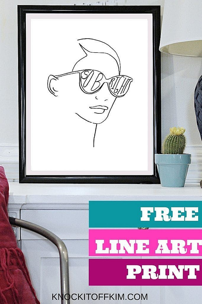PIN - minimalist boho line art