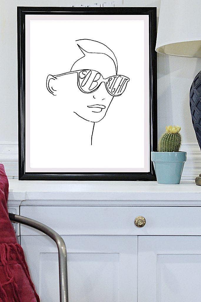 So-Bright- Line Art-printables