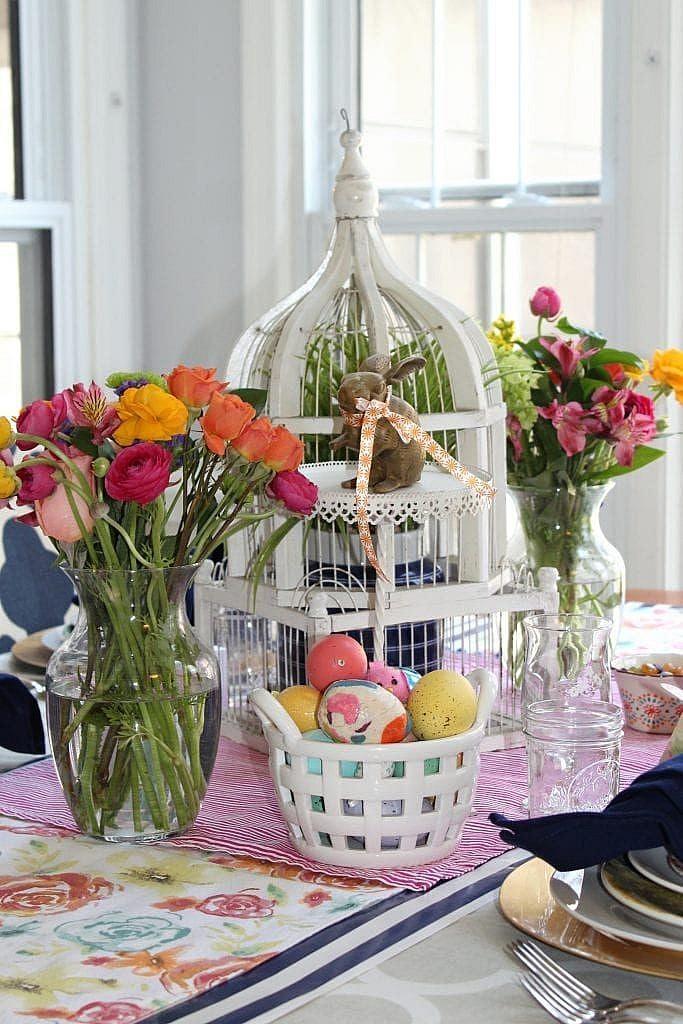 easter flower centerpieces ideas