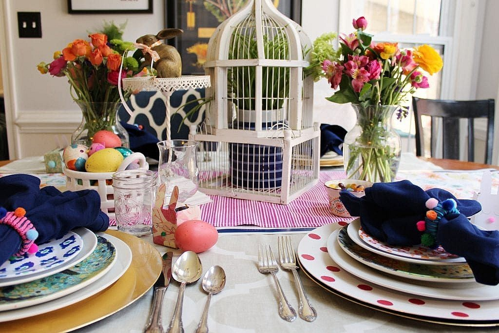 easter table decoration ideas diy