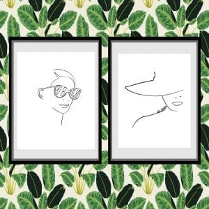 Free Printable Minimalist Line Art Prints