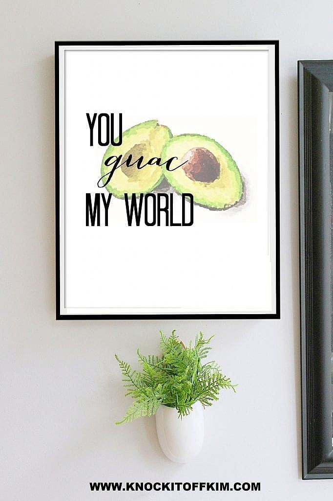 veg jokes - printable wall art