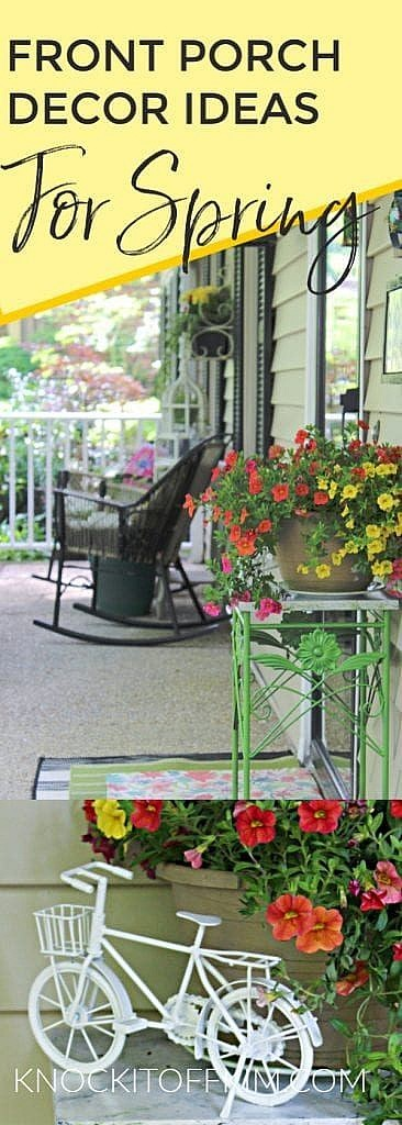 Front Porch Decor Ideas for Spring (1)