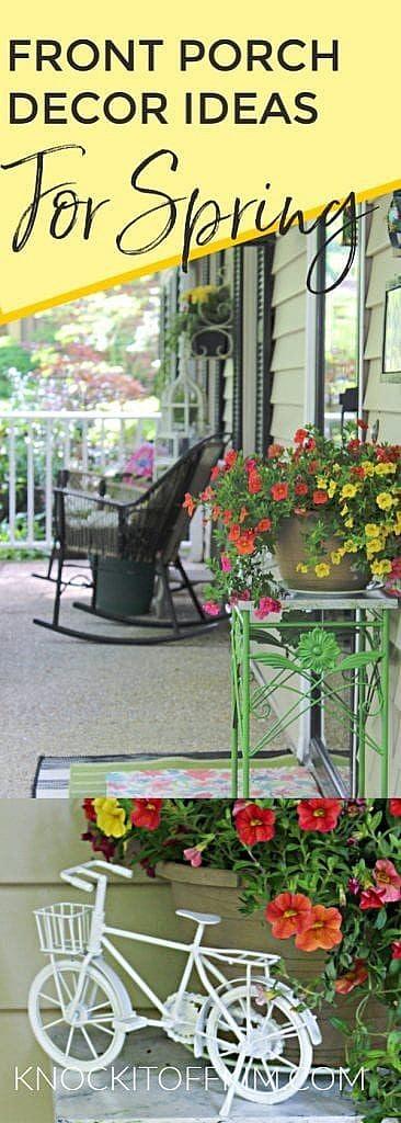 Front Porch Decor Ideas for Spring (1)