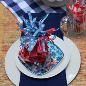Patriotic Table Setting Ideas for Summer
