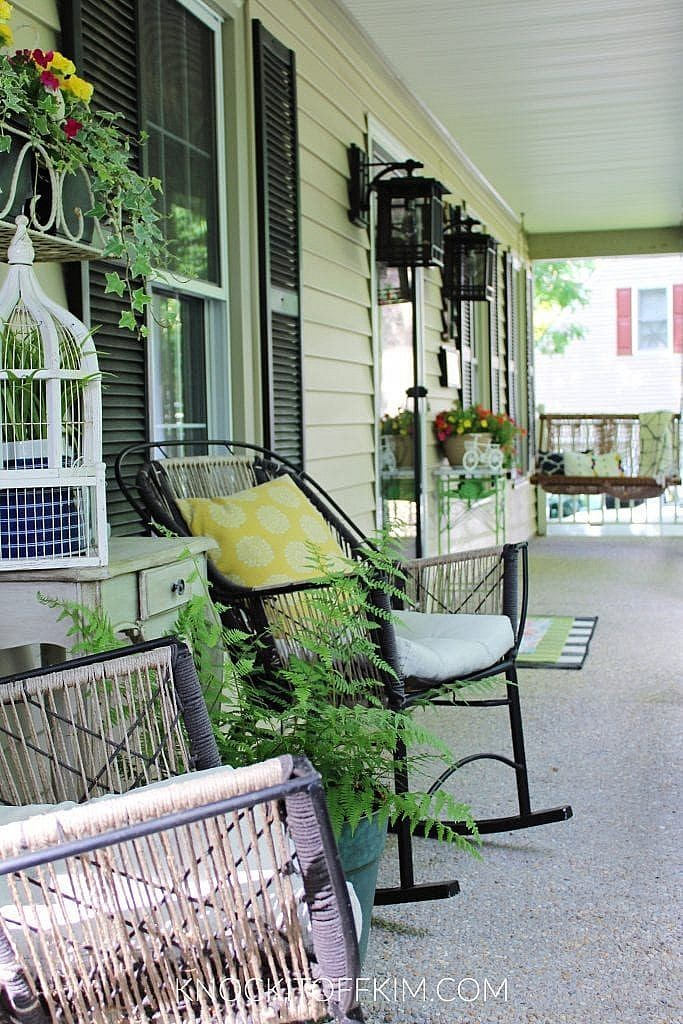 how to decorate your front porch