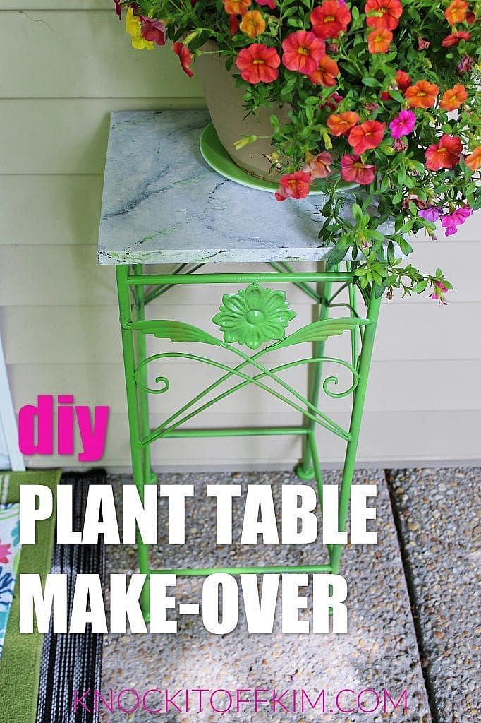 plant table make-over