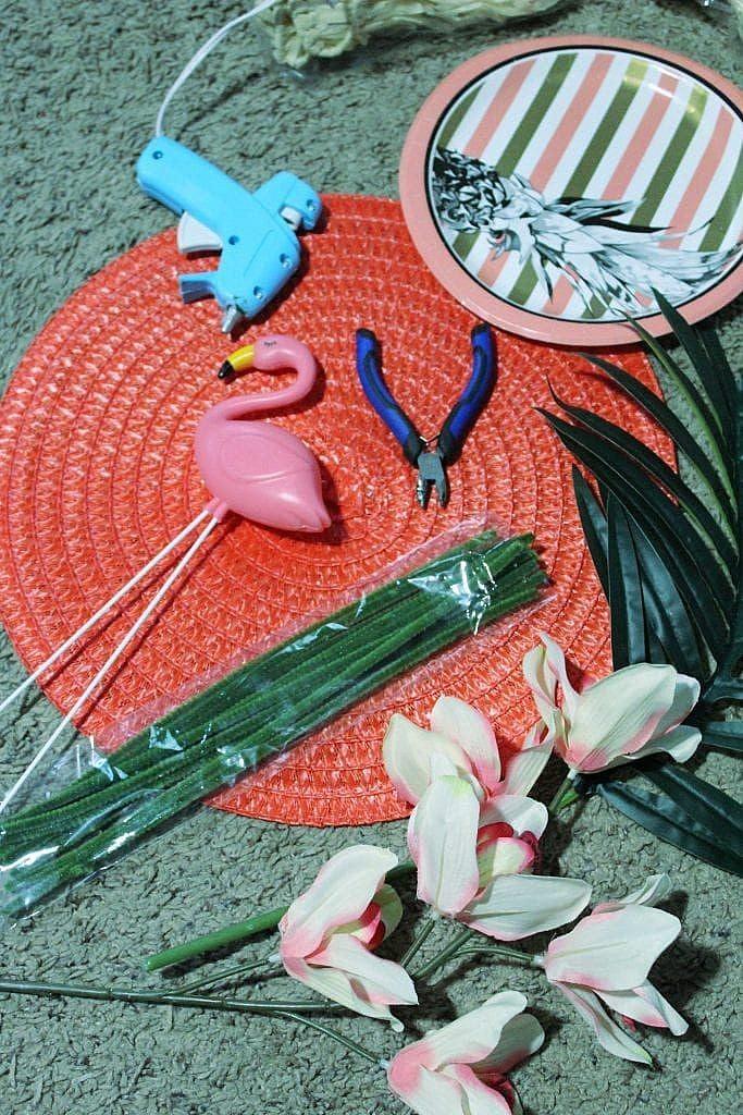 Summer Wreath - Materials