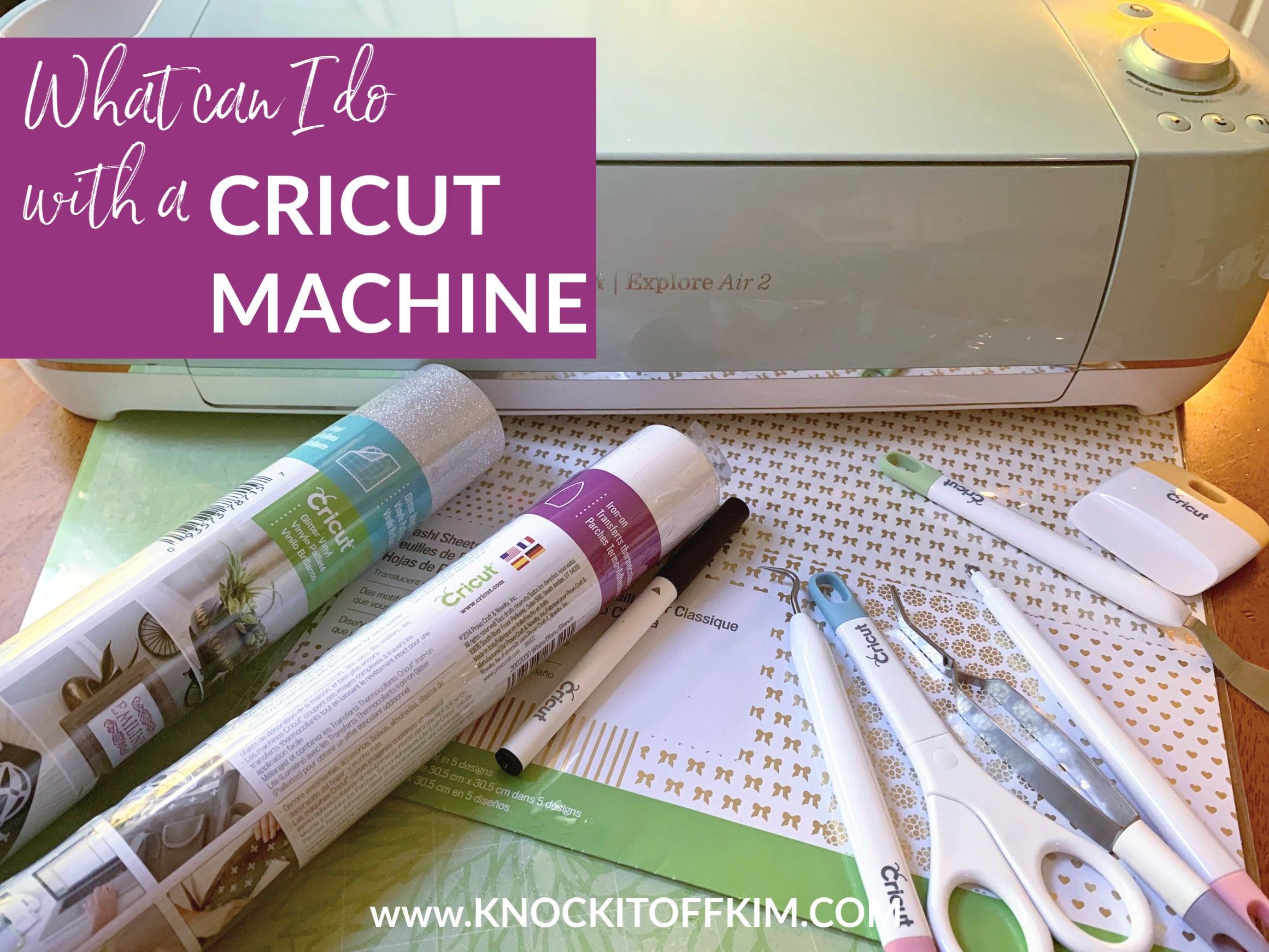 cricut machine header