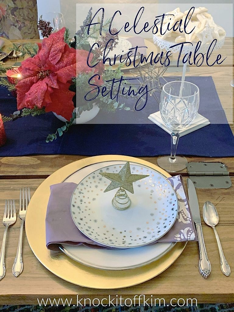 a celestial table setting