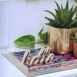 crafts and diy projects - decorative tray